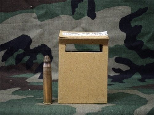 30-06 GRENADE LAUNCH BLANKS FOREIGN (NOT GUARANTEED TO FIRE) IN 10RD BOX.