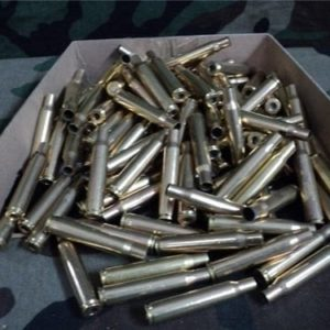 30-06 Military fired brass, 100 case pack.
