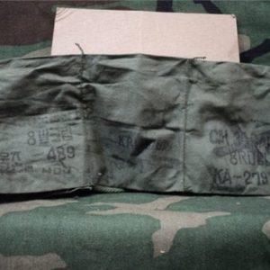 30-06 seven pocket cloth bandoleer with metal buttons