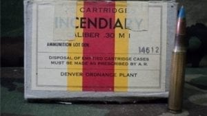 30-06 Denver ordinance incendiary ammo. 5 rounds