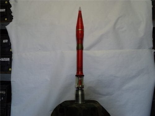 RPG 9A inert rocket with booster