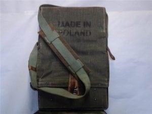 Poland hard cnvas leather rocket (or takedown firearm) backpack carrier