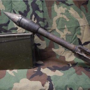 2.36 inch Armor piercing WWII inert Bazooka rocket