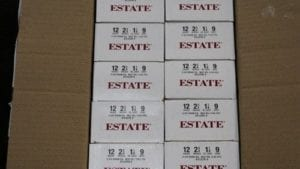 Estate 12 Gauge #9 Shot Shells 250 Rd Case