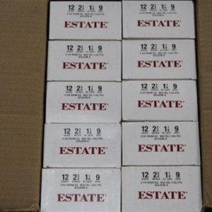 Estate 12 Gauge #9 Shot Shells 250 Rd Case