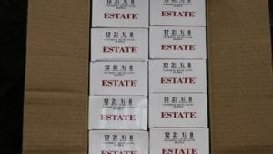 Estate 12 Gauge #8 Shot Shells 250 Rd Case