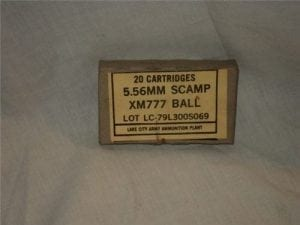 223 SCAMP AMMO in 20rd boxes