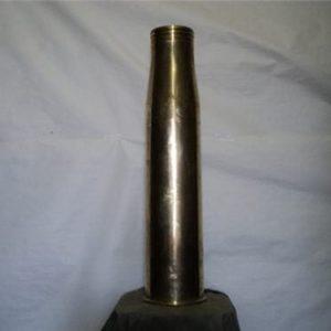 4.5 inch polished brass case on base 1405-106-RLB 2/86. on primer, N44 MX3