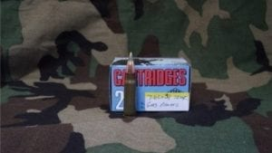 7.62×39 Tear gas ammo. 20 round box
