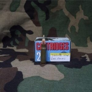 7.62×39 Tear gas ammo. 20 round box