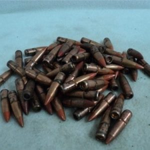 7.62×39 Orange tip tracer bullets.