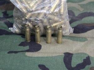 7.62×39 Boxer primed fired brass. 129 case pack