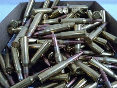 7.62X54R Chinese brass case ball ammo. 100 round pack.