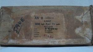 7.62x54R API Ammo. 300 round original finland wax box.
