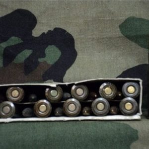 7.62x54R Russian ball ammo lacguered case. 20 round box.