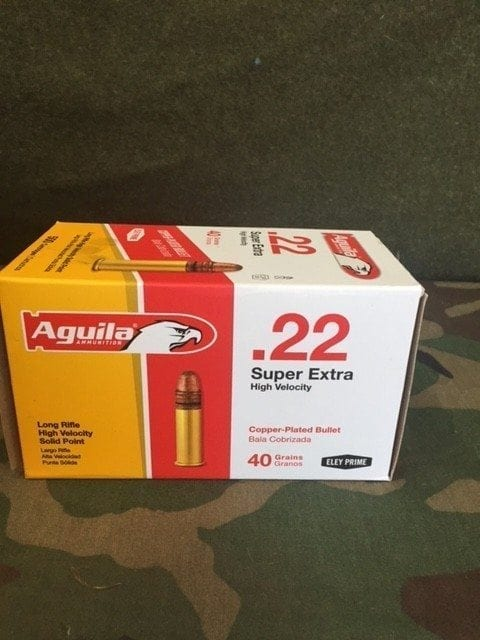 22LR Aguila Super Extra HV Solid Point