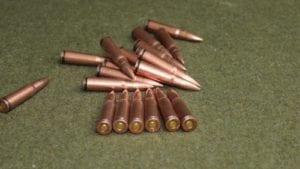 7.62x39 Norinco pre-ban ammo.