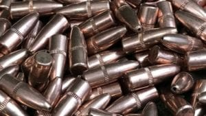 .224 Diameter Flat Base Hollow Point 50 Grain Bullets. 500 bullet pack.