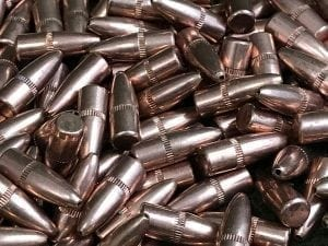 .224 Diameter Flat Base Hollow Point 50 Grain Bullets. 500 bullet pack.
